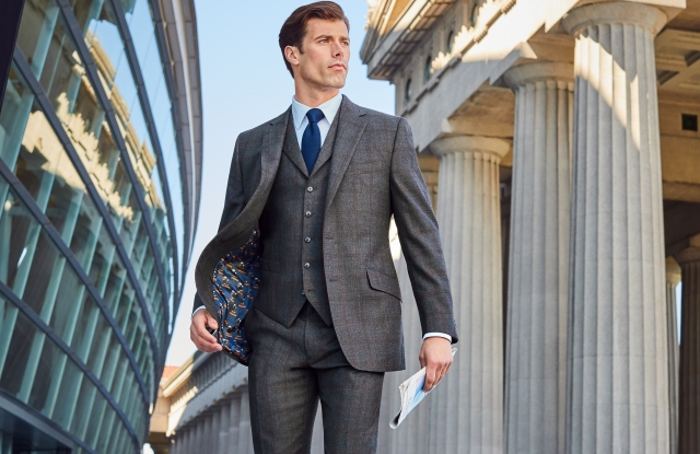 Jos. A. Bank is offering NFL-themed suit linings.