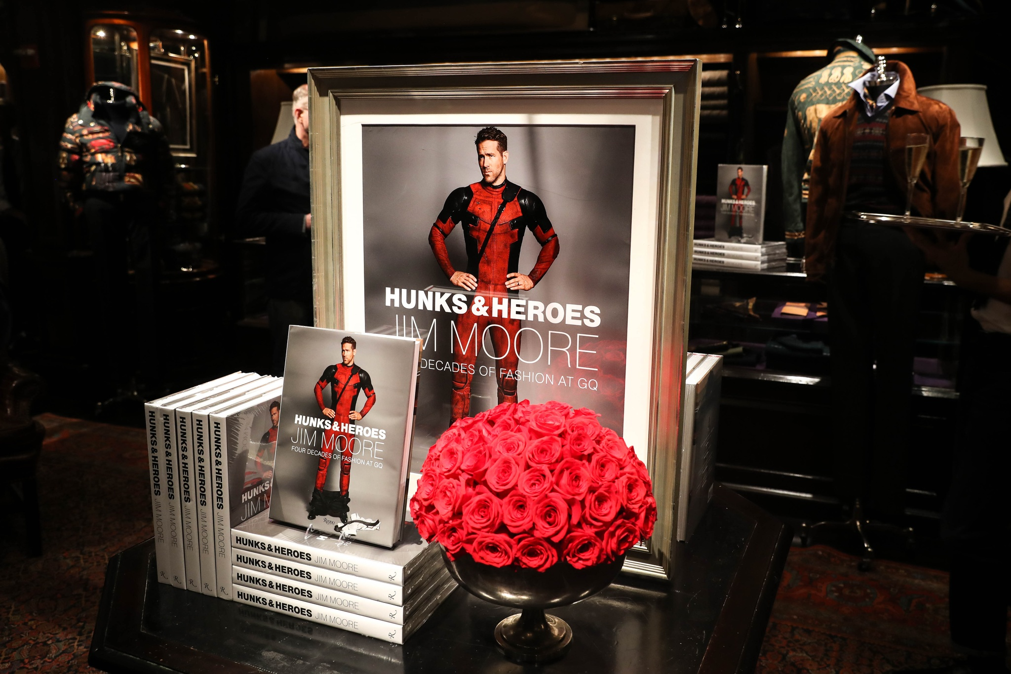 Hunks and Heroes by Jim Moore, Published by Rizzoli