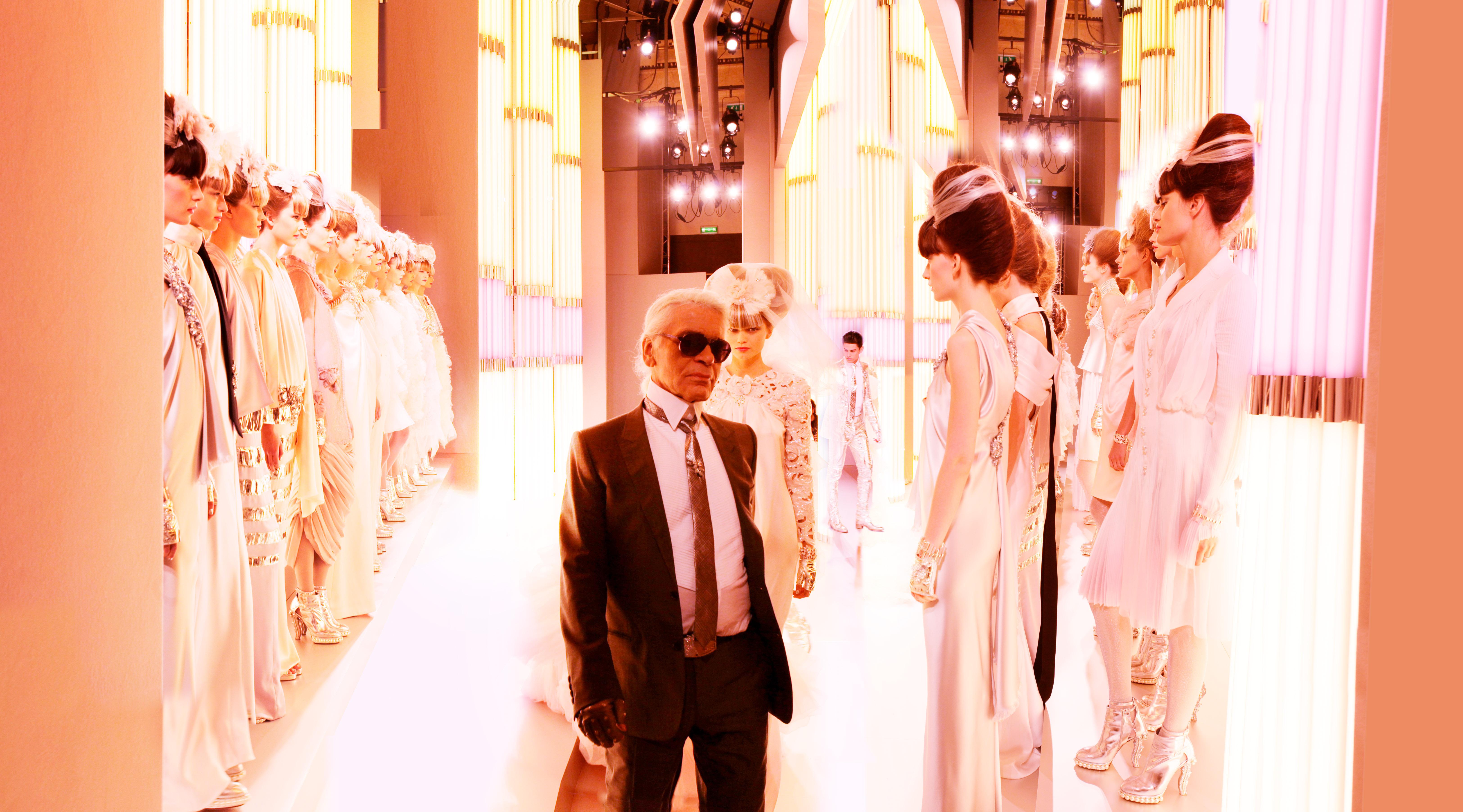 Karl Lagerfeld's Chanel runway shows