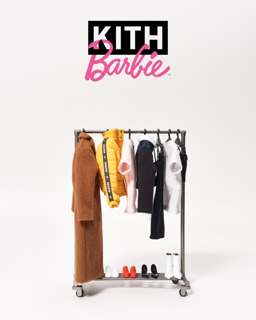 Kith Women and Barbie Are Teaming Up