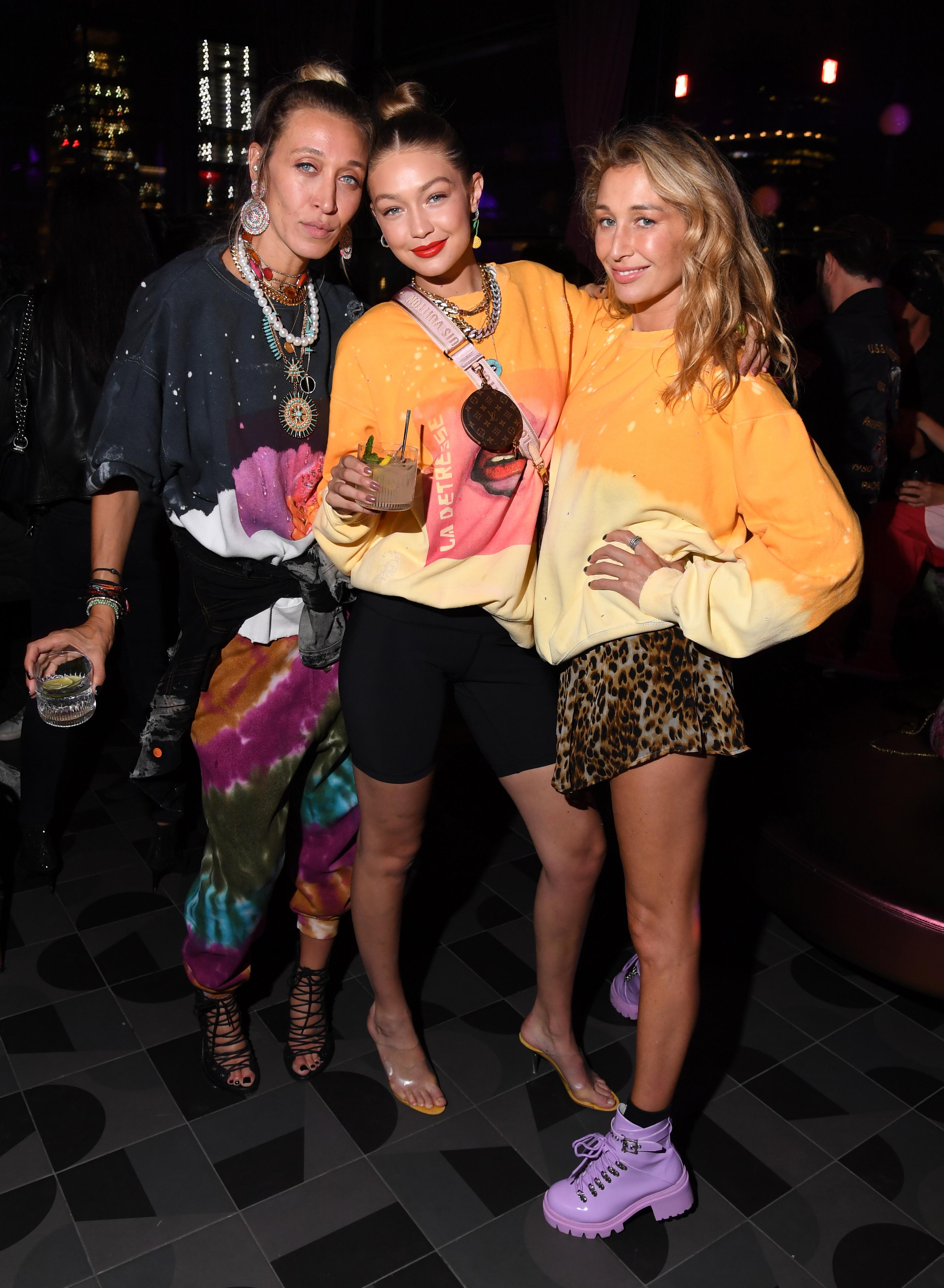 Alana Hadid, Gigi Hadid and Marielle Hadid