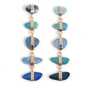 Melissa Joy Manning Opal Earrings