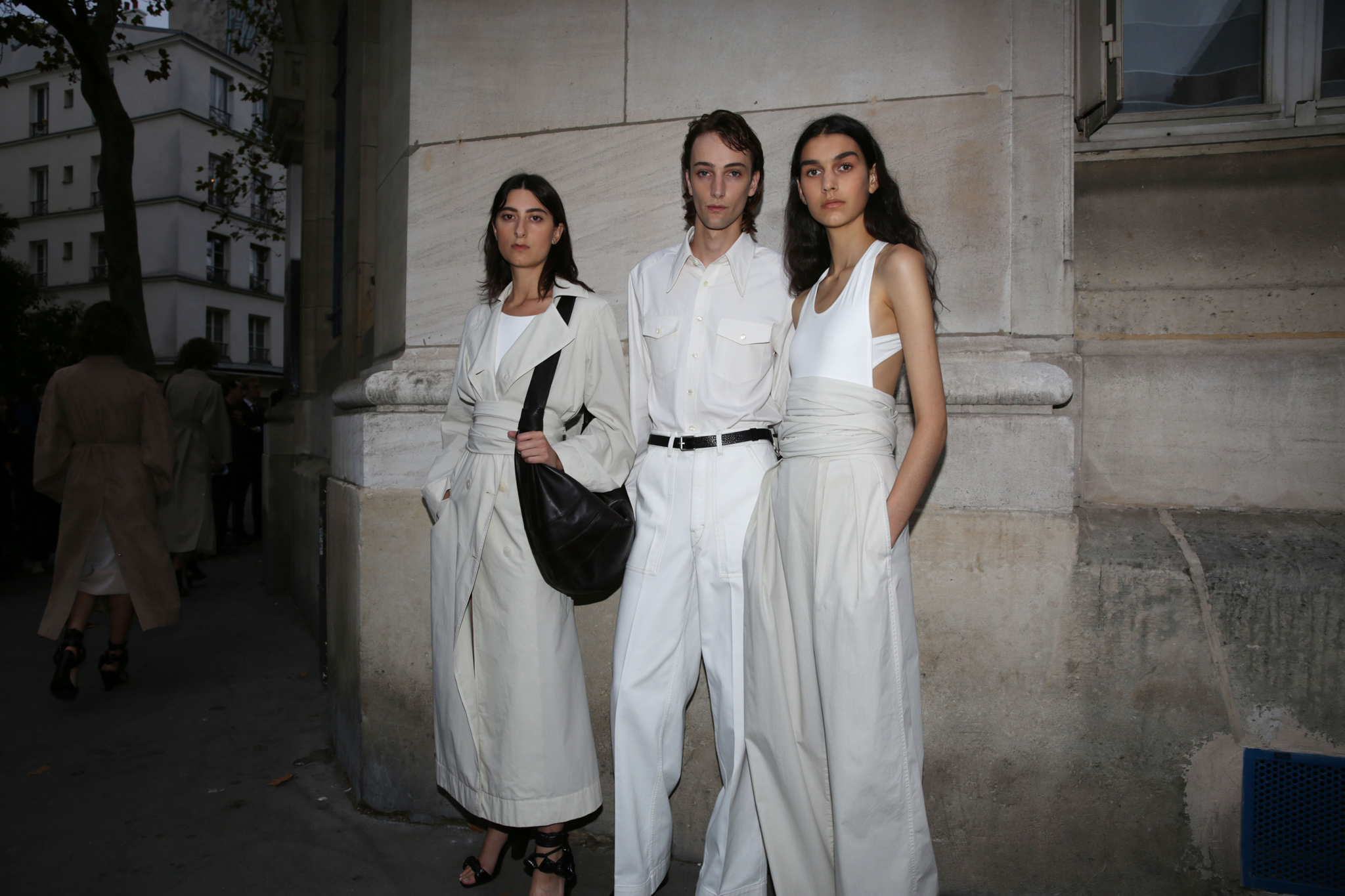 Backstage at Lemaire RTW Spring 2020