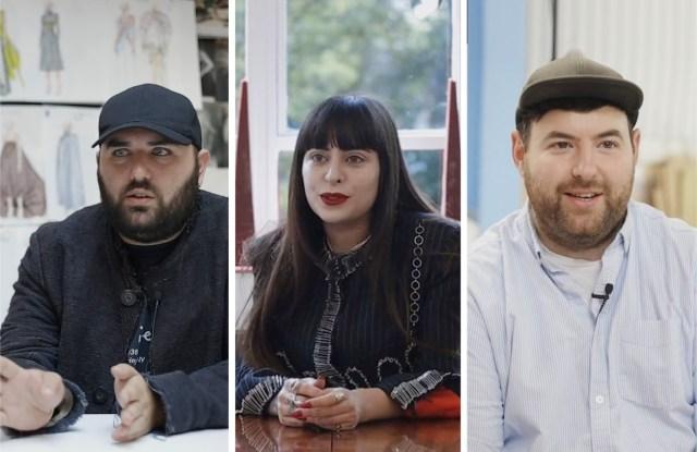Michael Halpern, Dilara Findikoglu, Richard Quinn