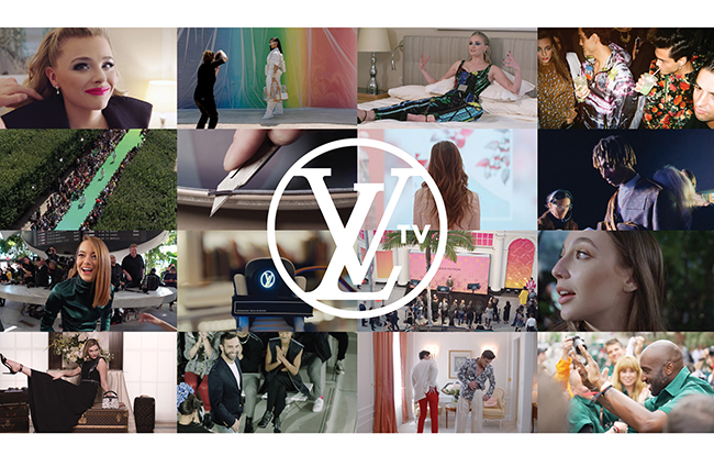 Stills from Louis Vuitton's new LVTV section on YouTube.