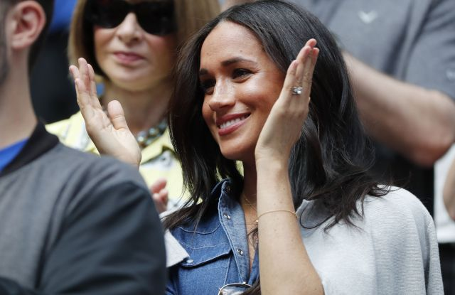 Meghan Markle at US Open 2019