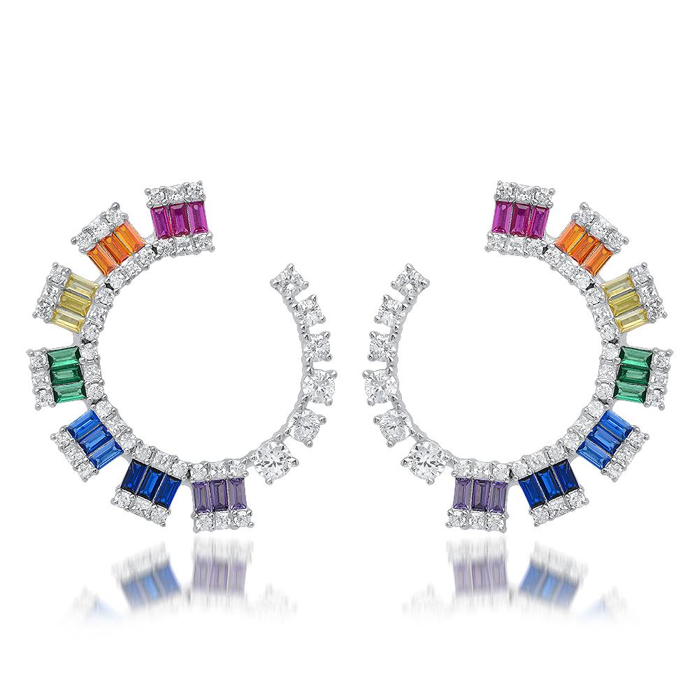Earrings by Natkina.