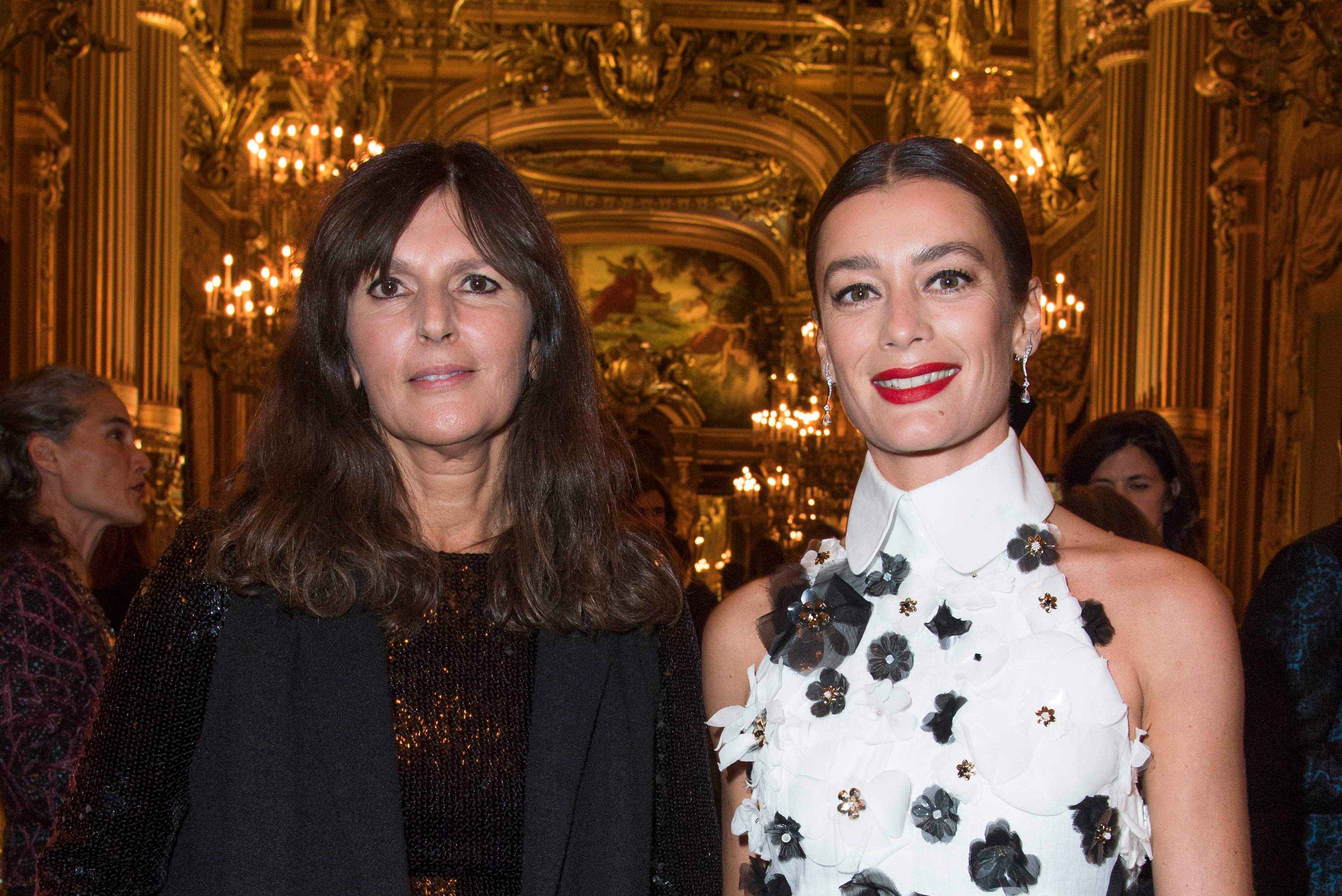 Virginie Viard & Aurélie Dupont - Gala de l'Opéra au Palais Garnier, le 20 septembre 2019 à Paris.