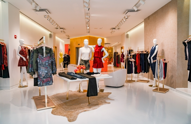 An image of Ramy Brook's new store at 980 Madison Avenue.