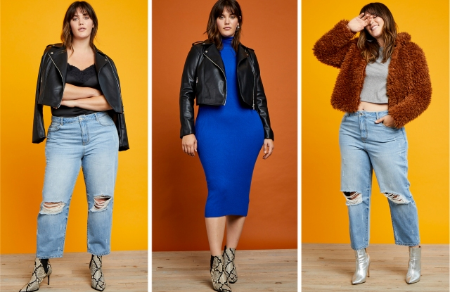 Three looks from Refinery29 x Eloquii.