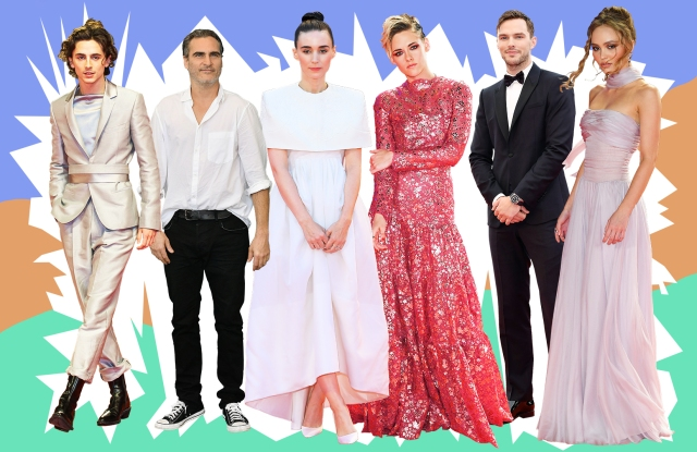 Looks from the Venice Film Festival.