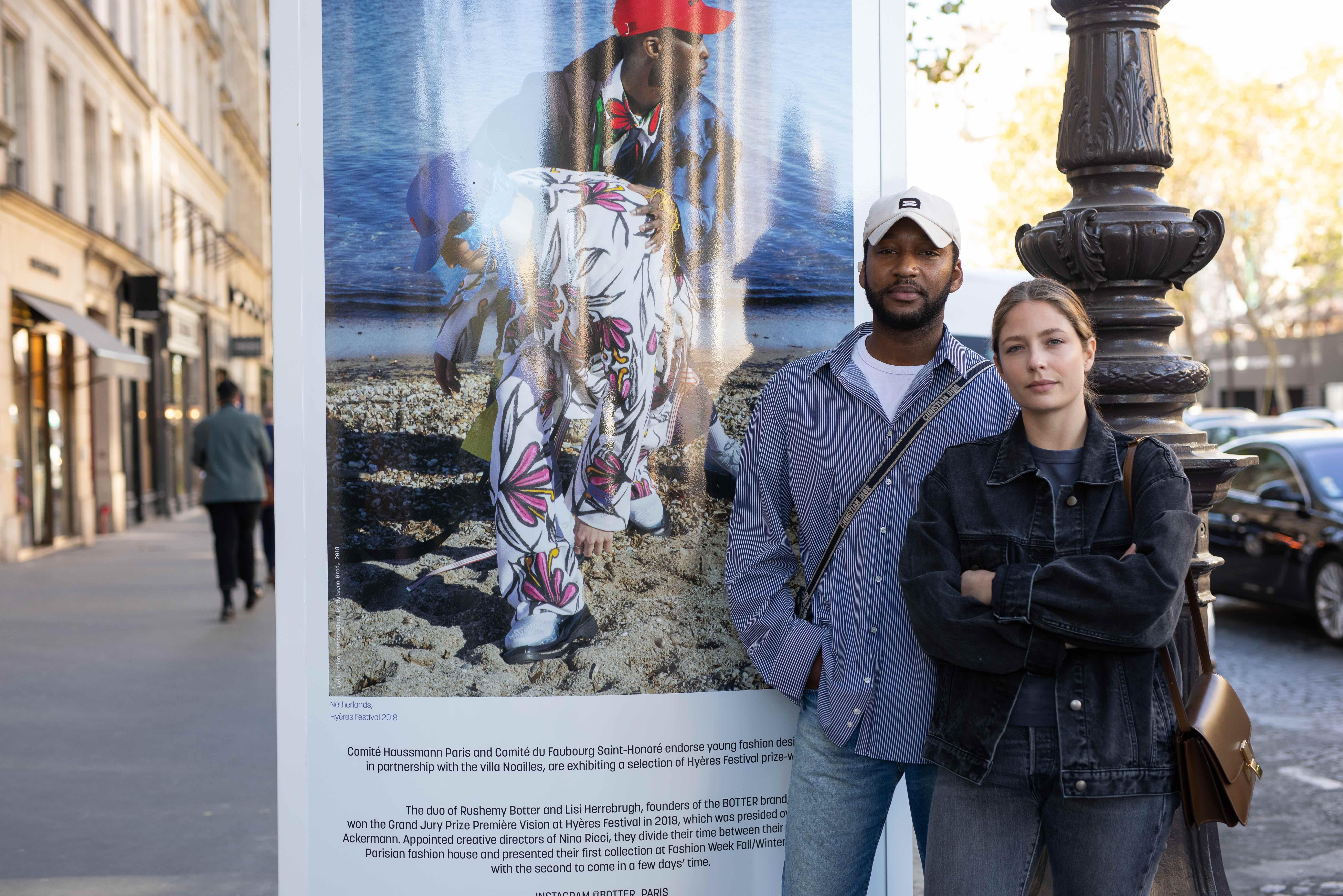 Rushemy Botter and Lisi Herrebrugh
