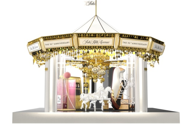 A rendering of the Saks-inspired Carousel.