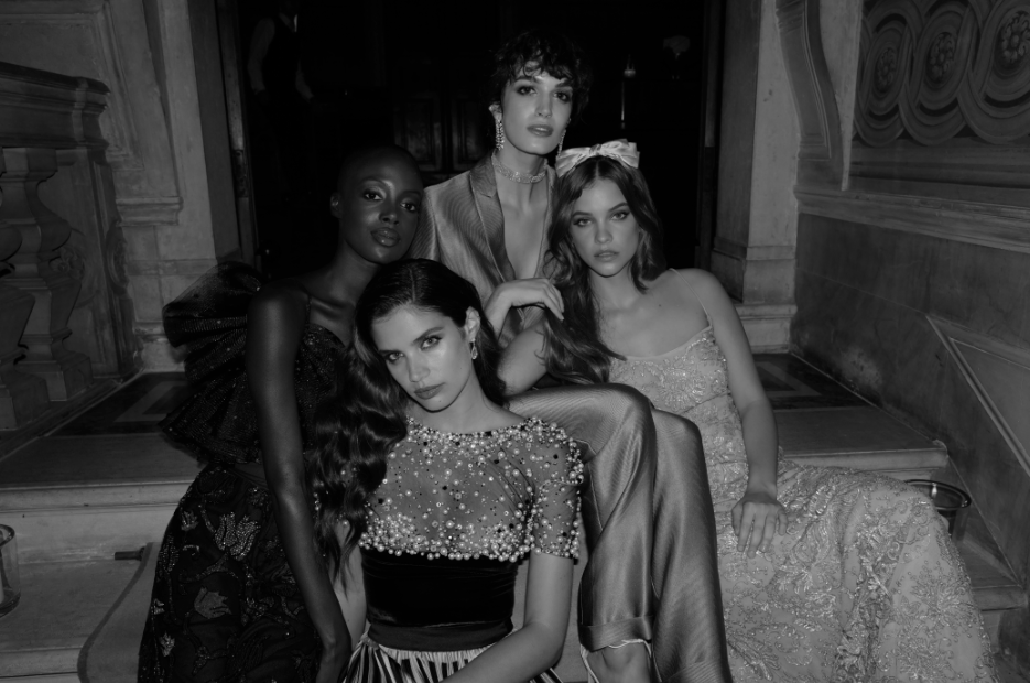 Armani Beauty faces Madisin Rian, Greta Ferro, Barbara Palvin and Sara Sampaio.