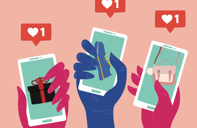 Gen Z, Instagram, social media, shopping