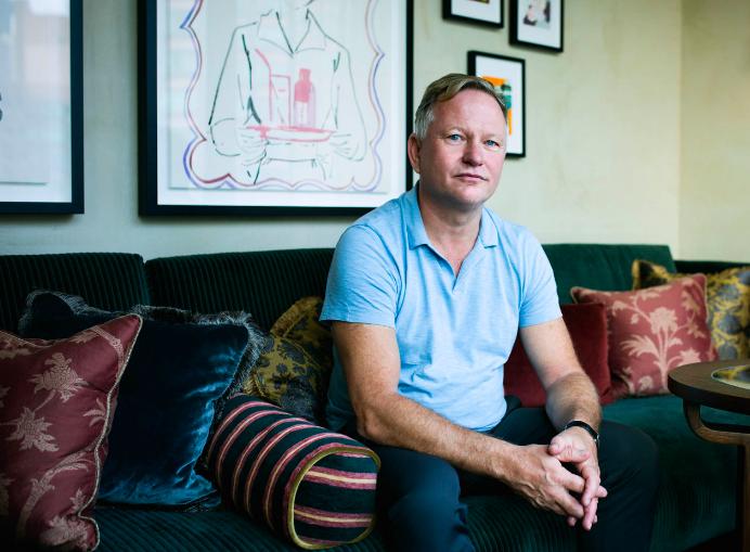 Nick Jones, Soho House founder.