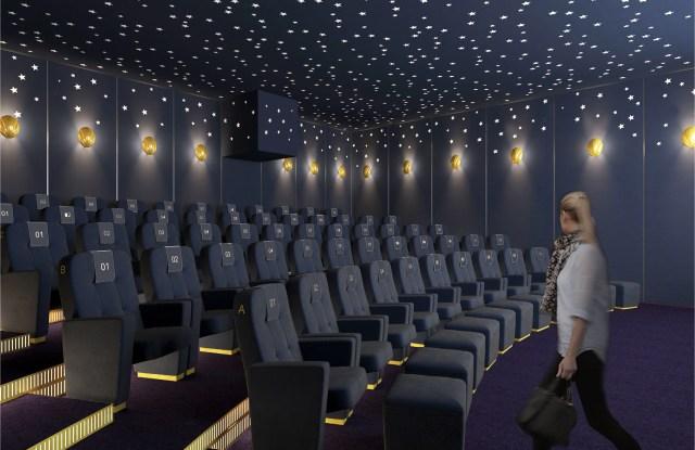 The Selfridges Cinema