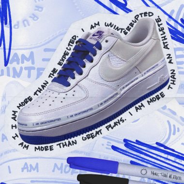 Nike x Uninterrupted Air Force 1 sneakers