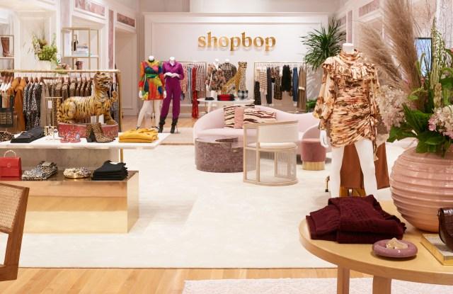 Shopbop's SoHo pop-up opens its doors on Friday.