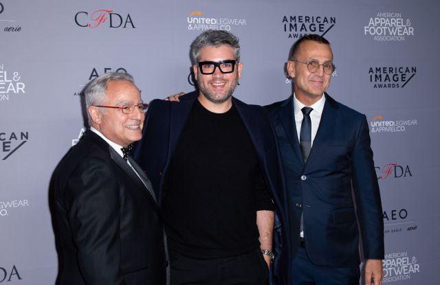 Guest, Brandon Maxwell and Steven KolbAAFA American Image Awards, New York, USA - 15 Apr 2019