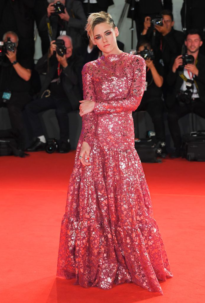 Kristen Stewart'Seberg' premiere, 76th Venice Film Festival, Italy - 30 Aug 2019Wearing Chanel Same Outfit as catwalk model *10325735ay
