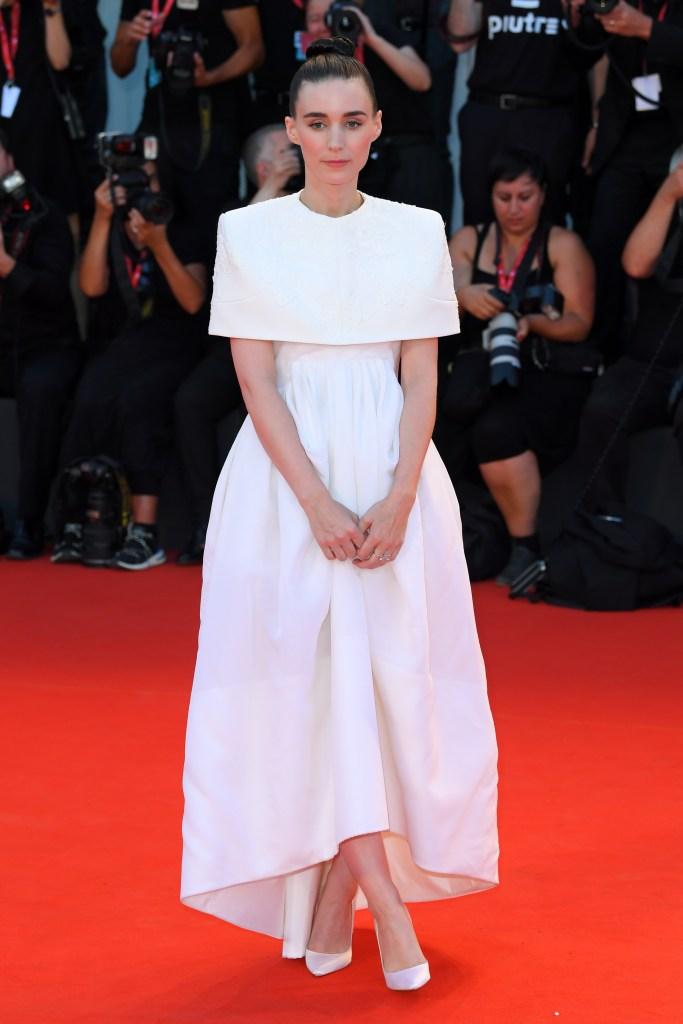 Rooney Mara'Joker' premiere, 76th Venice Film Festival, Italy - 31 Aug 2019Wearing Givenchy, Custom