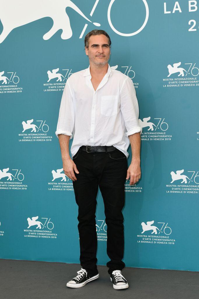 Joaquin Phoenix'Joker' photocall, 76th Venice Film Festival, Italy - 31 Aug 2019
