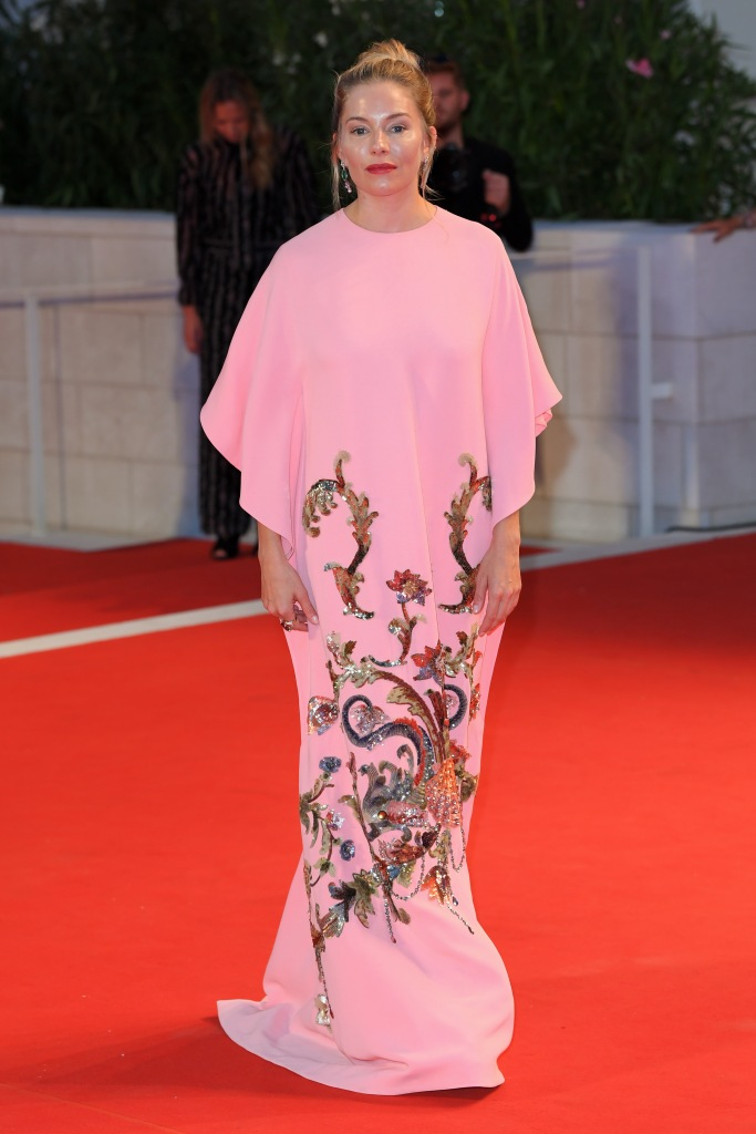 Sienna MillerKineo Prize, 76th Venice Film Festival, Italy - 01 Sep 2019Wearing Gucci, Custom