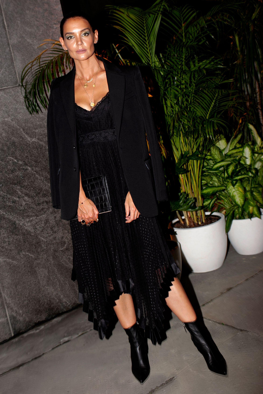 Katie HolmesZimmermann Dinner and Store Party, New York Fashion Week, USA - 04 Sep 2019Wearing Zimmermann