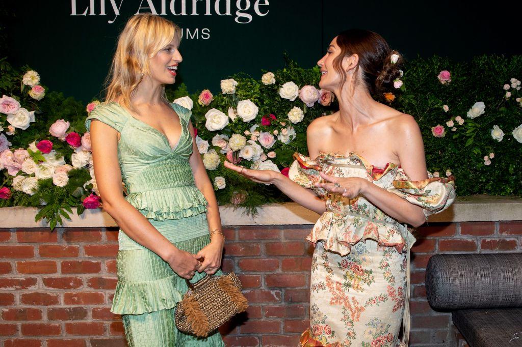 Karolina Kurkova and Lily AldridgeLily Aldridge Parfums launch, Spring Summer 2020, New York Fashion Week, USA - 08 Sep 2019