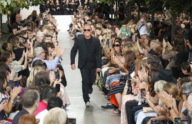 Michael Kors on the catwalkMichael Kors show, Runway, Spring Summer 2020, New York Fashion Week, USA - 11 Sep 2019