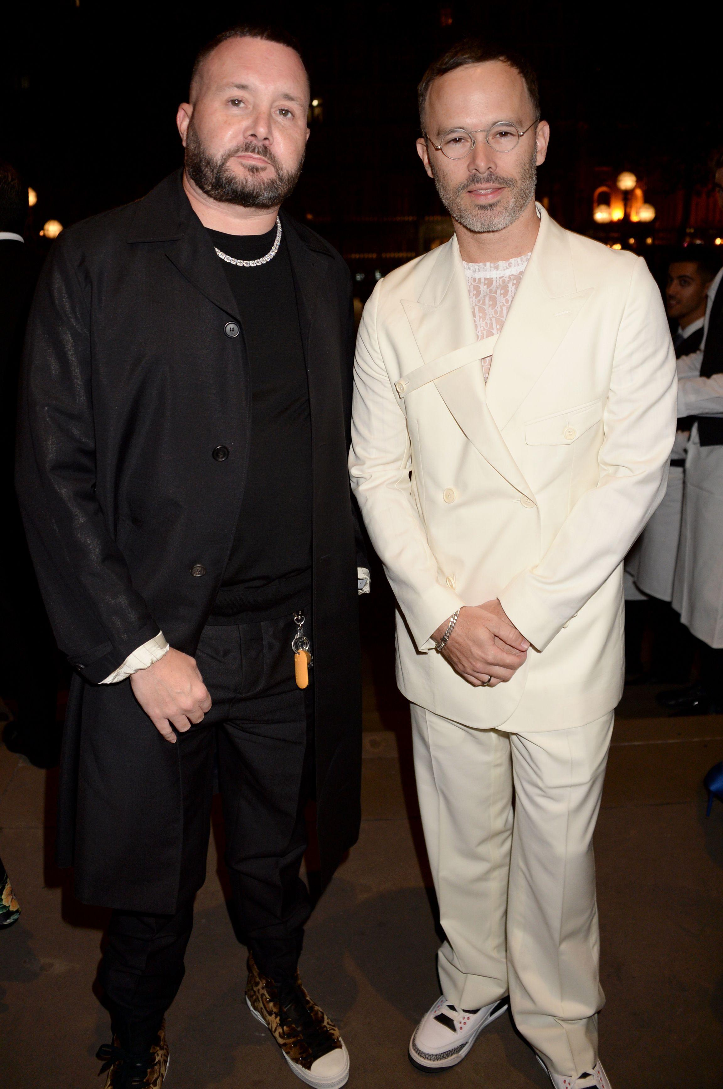 Kim Jones and Daniel ArshamFashion For Relief, Arrivals, Spring Summer 2020, London Fashion Week, UK - 14 Sep 2019