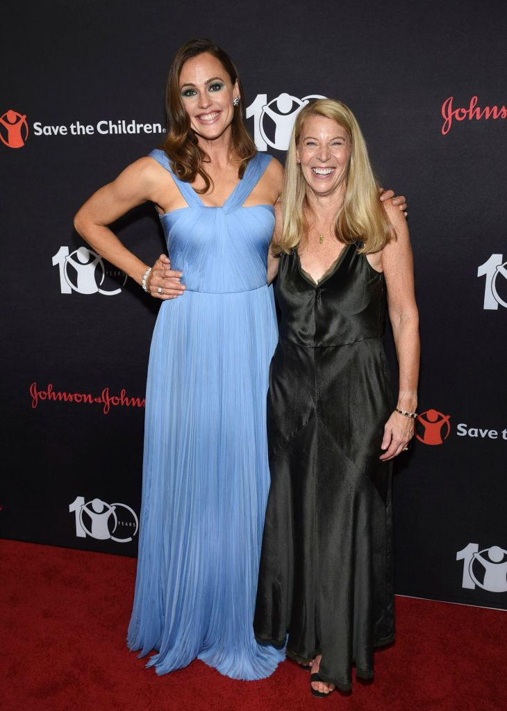 "Jennifer Garner, Carolyn Miles. Actress and Save the Children trustee Jennifer Garner, left, poses with Save the Children CEO Carolyn Miles at the Save the Children's ""The Centennial Gala: Changing the World for Children"" at the Hammerstein Ballroom, in New YorkSave The Children 2019 Gala, New York, USA - 12 Sep 2019"