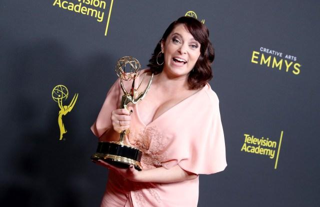 Rachel Bloom - Outstanding Original Music And Lyrics - 'Crazy Ex-Girlfriend'71st Annual Primetime Creative Arts Emmy Awards, Day 1, Press Room, Microsoft Theater, Los Angeles, USA - 14 Sep 2019