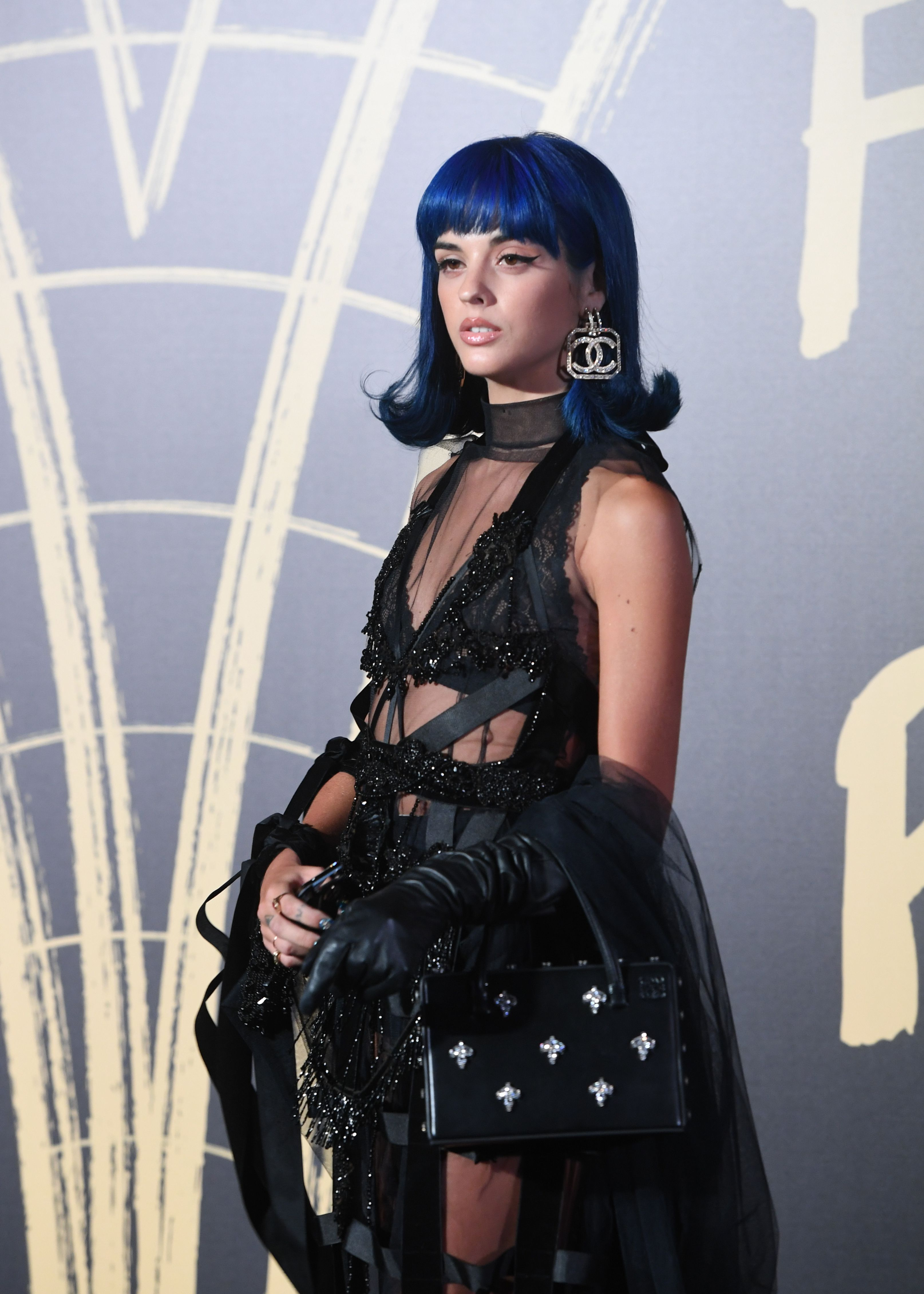 Spanish DJ Sita Abellan on the red carpet of the Fashion For Relief charity gala during London Fashion Week in London, Britain, 14 September 2019. Spring/summer 2020 collections are presented at the fashion week, which runs from 13 September to 17 September 2019.Fashion for relief gala red carpet at the London Fashion Week S/S 2020, United Kingdom - 14 Sep 2019