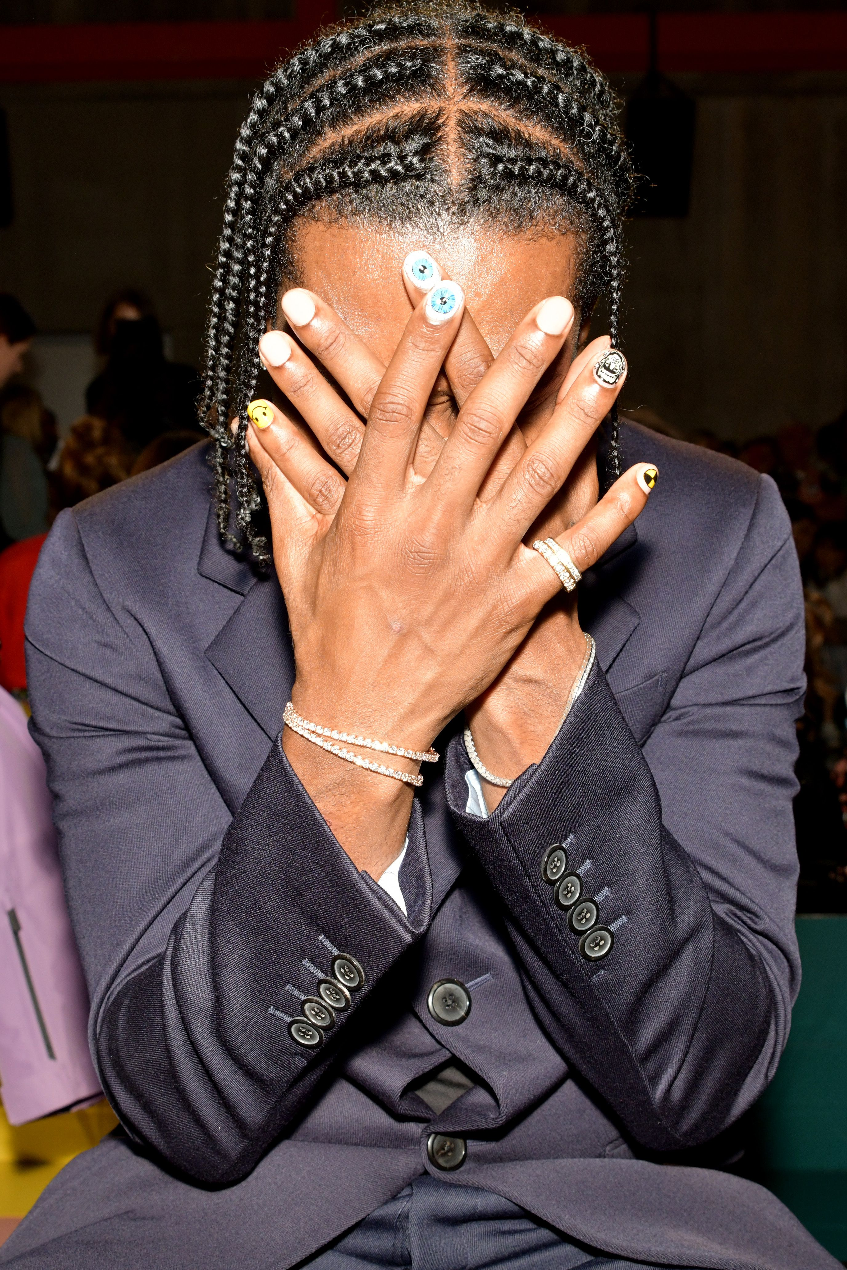 ASAP Rocky in the front rowPrada show, Front Row, Spring Summer 2020, Milan Fashion Week, Italy - 18 Sep 2019