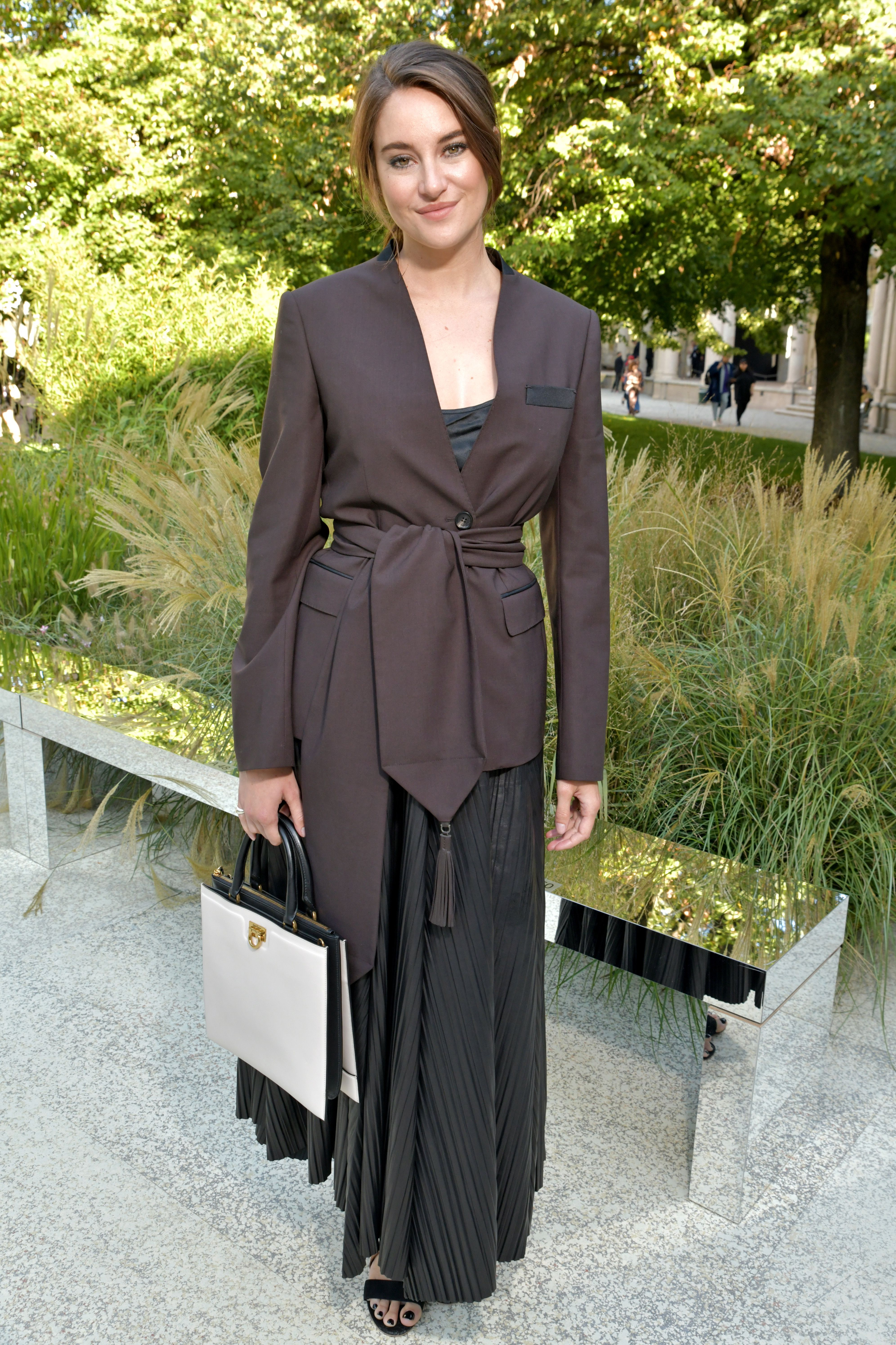 Shailene Woodley in the front rowSalvatore Ferragamo show, Front Row, Spring Summer 2020, Milan Fashion Week, Italy - 21 Sep 2019