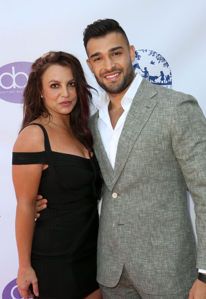 Britney Spears and Sam AsghariThe Daytime Beauty Awards, Arrivals, Los Angeles, USA - 20 Sep 2019