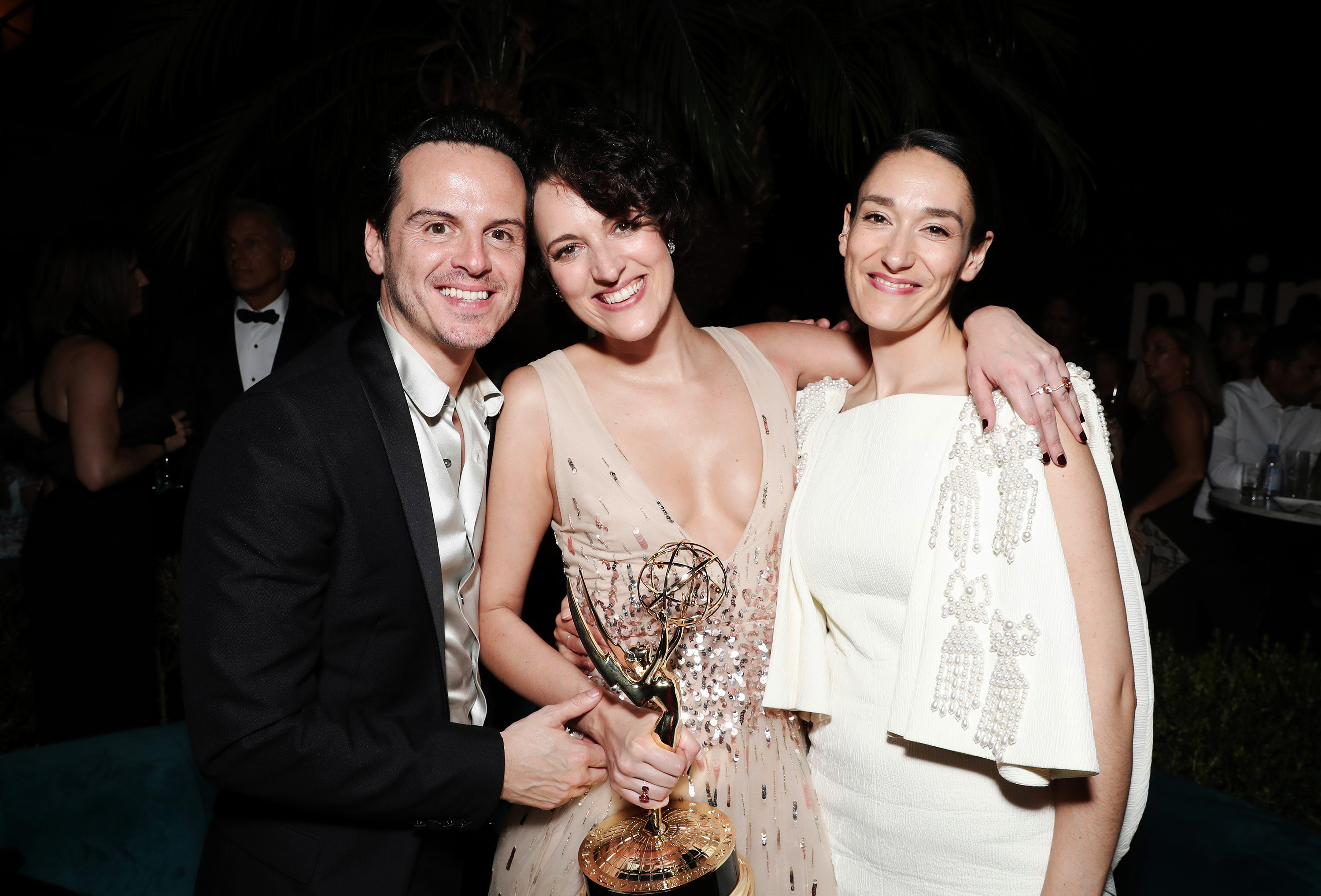 Andrew Scott, Phoebe Waller-Bridge and Sian Clifford71st Primetime Emmy Awards, Amazon After Party, Inside, Chateau Marmont, Los Angeles, USA - 22 Sep 2019
