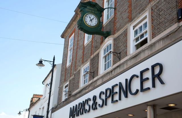 Marks & Spencer storeMarks & Spencer, Newbury, Berkshire, UK - 23 May 2018Marks & Spencer the retailer said it plans to close 100 shops by 2022. M&S suffered a big fall in annual profits following a costly store closure plan.