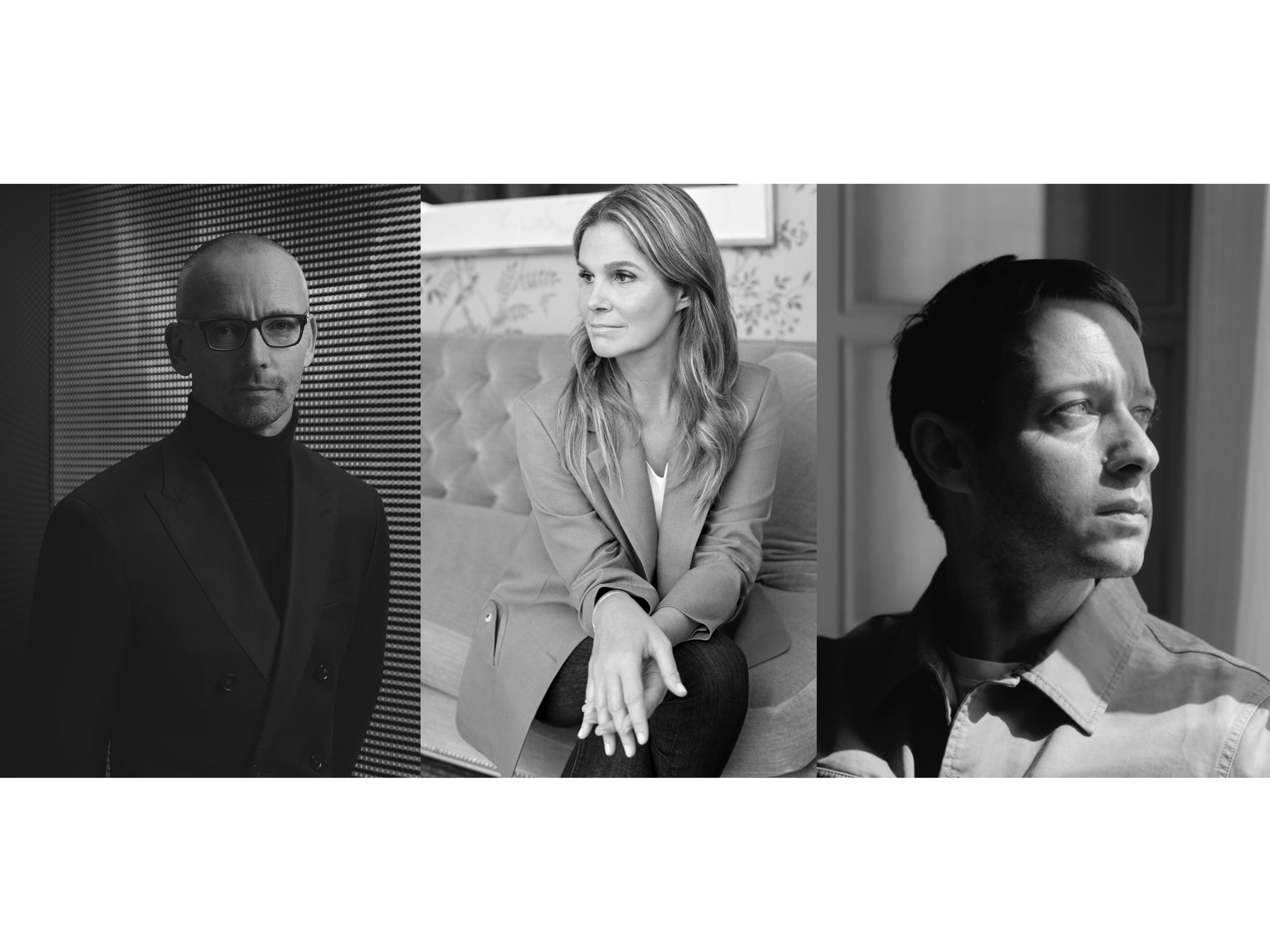 Ingo Wilts, Boss chief brand officer; Aerin Lauder; Damir Doma.