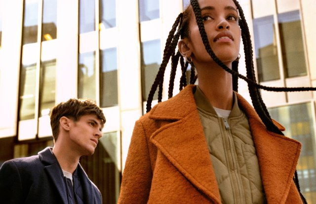 A look from Frank and Oak's Smart-Layering Outerwear collection.