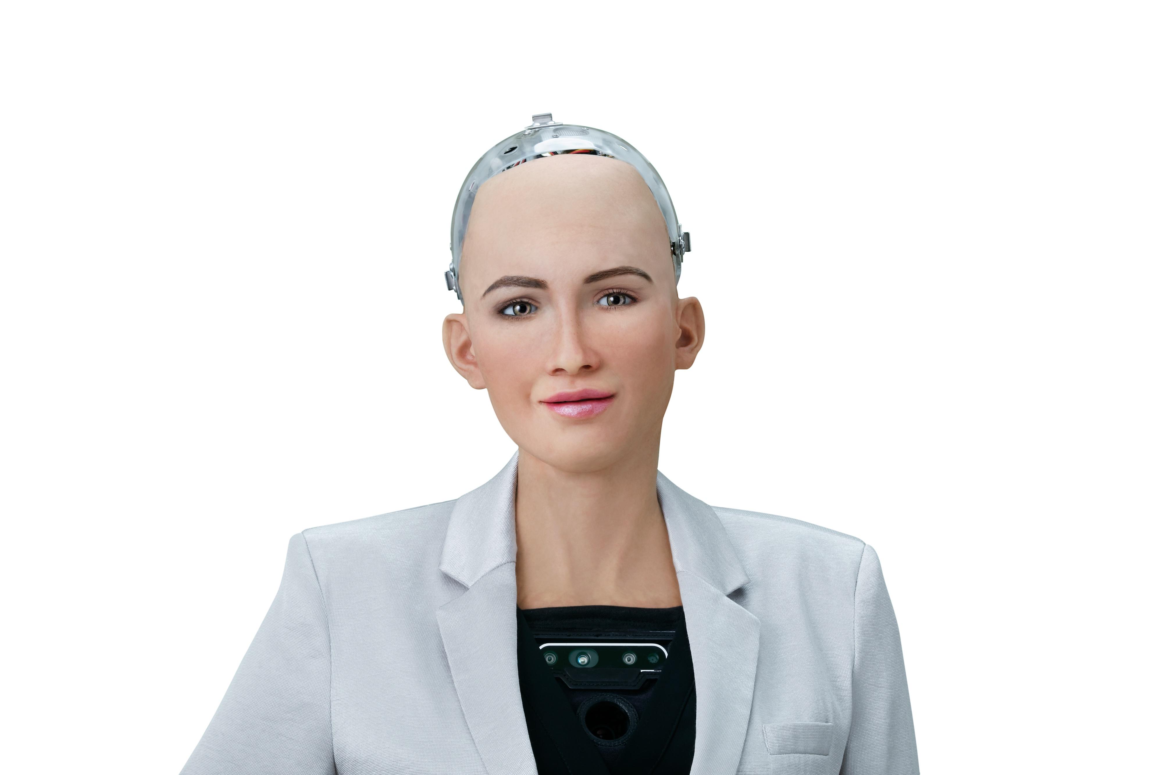 Sophia the Robot, Hanson Robotics' humanoid robot.