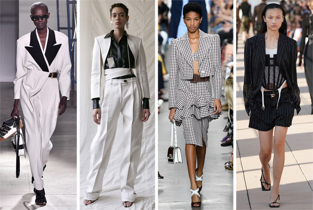 From Left: Peter Do, Michael Kors Collection, Dion Lee, Proenza