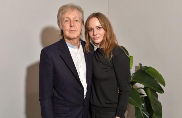 Paul McCartney and Stella McCartney