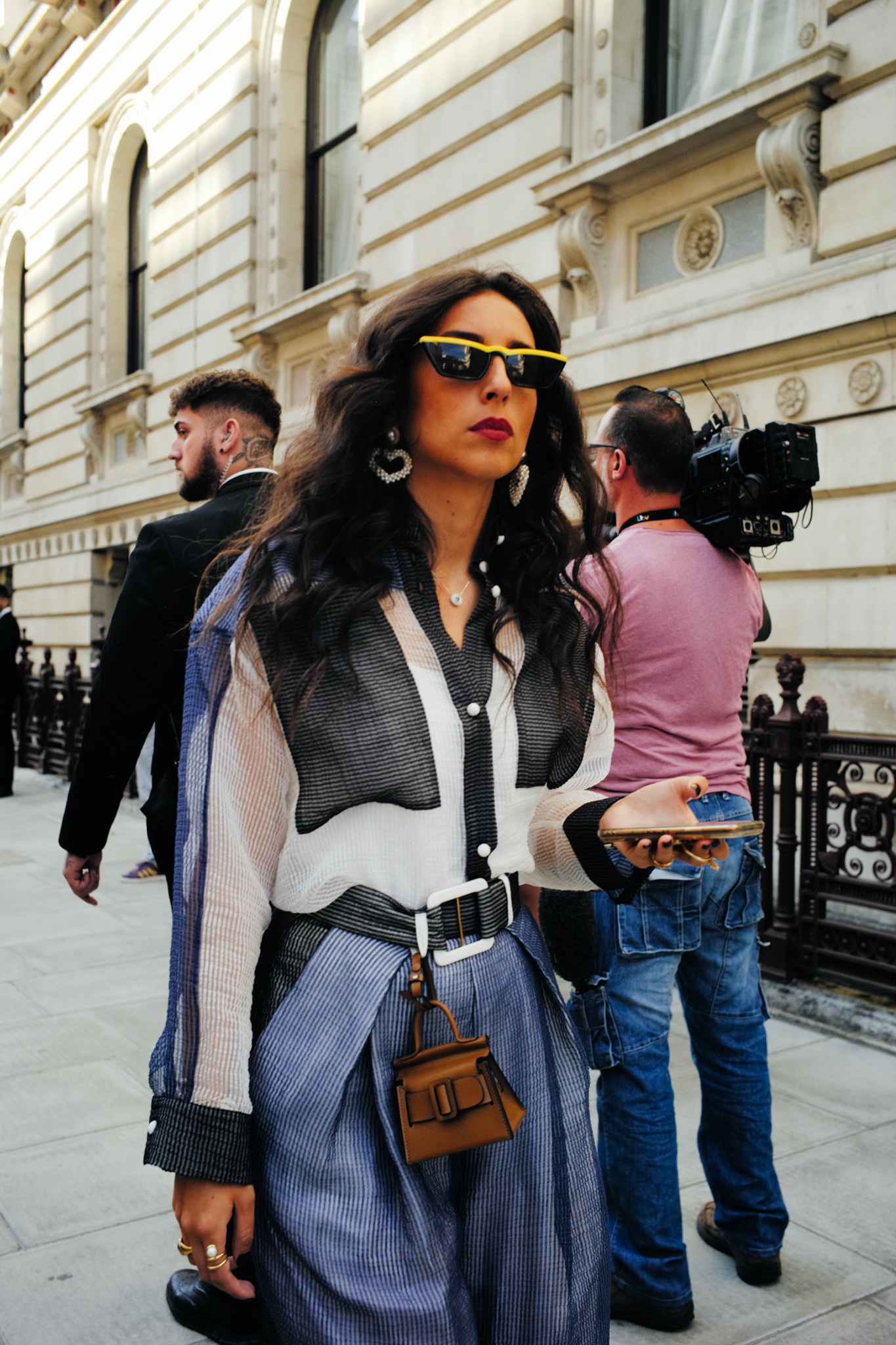 Street style at London Fashion Week spring 2020