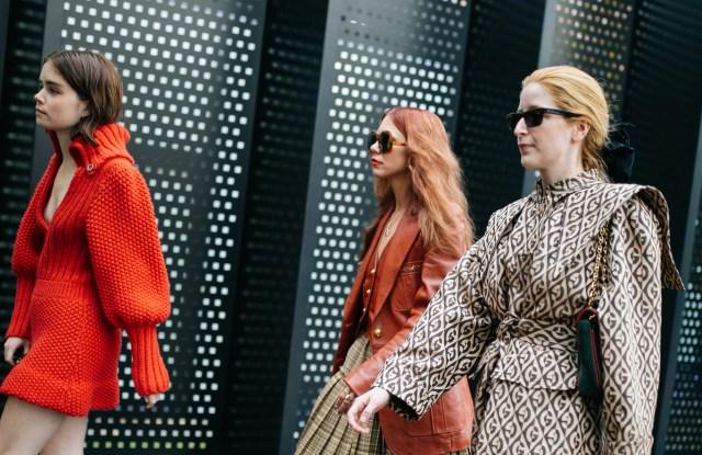 Street style at Milan Fashion Week Spring 2020