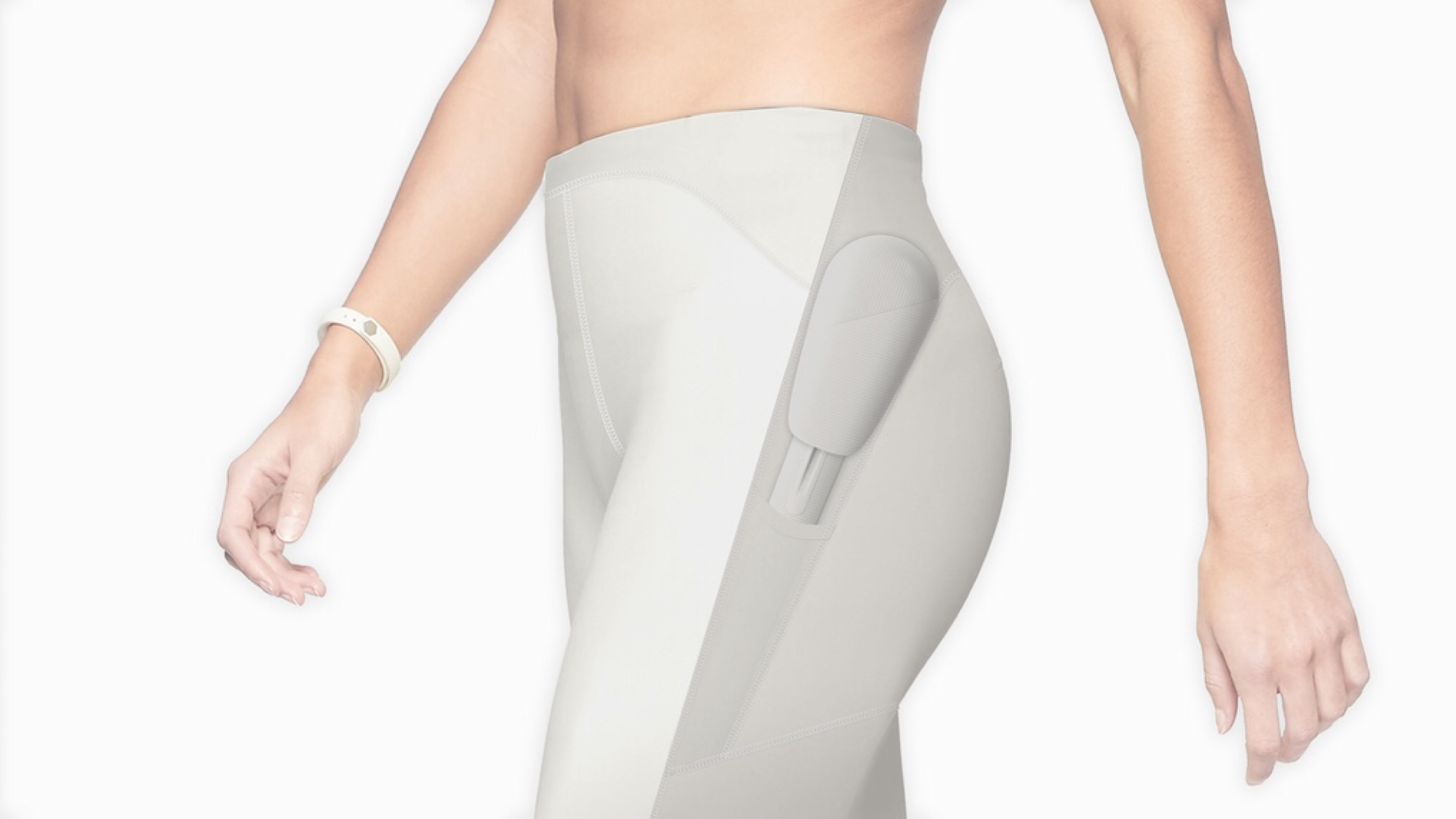 TAU is developing a compression pant capable of resistance training, thanks to detachable pods.