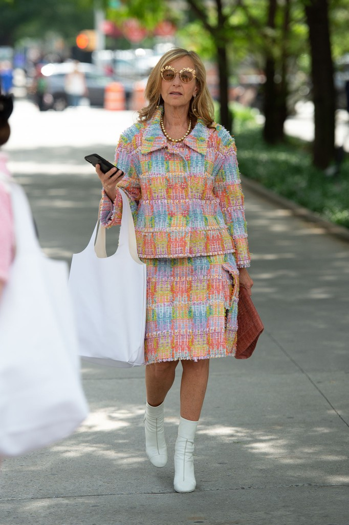 Street style at New York Fashion Week Spring 2020