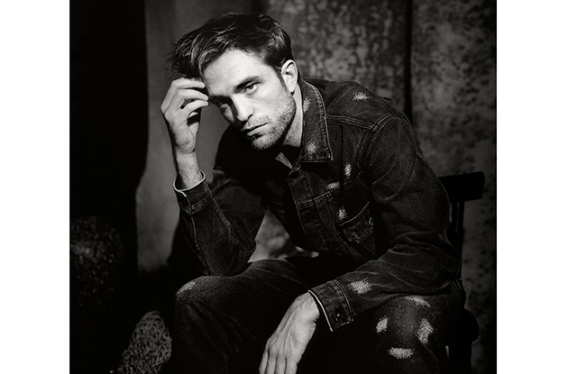 """A portrait of Robert Pattinson in """"The Dior Sessions."""""""